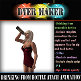 Drinking From Bottle Attach Animations Full Perm