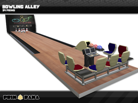 Bowling Alley Scripted With Sound  ™