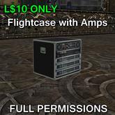 Flightcase with Amps