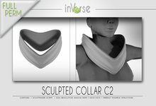 Sculpted collar C2 full permission for cloth designers