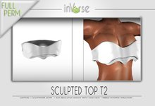 Sculpted top  T2 Full permission for cloth designers