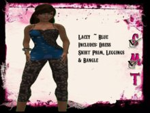 ::Sweet Intoxication:: **SALE** Lacey - Dark Turquoise Blue