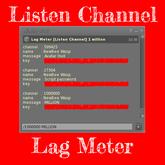 Lag Meter [Listen Million Channel]