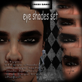 (rs)Male EYe shade&lashes