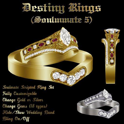 Ashira's Destiny Rings (SM5)