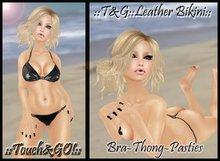 ::Touch&GO!::Leather Bikini::