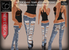 TD TEMPLATES Rip Top Jeans Templates PNG & PSD FILES  - FULL PERMISSIONS