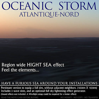 Oceanic Storm - Atlantique-Nord