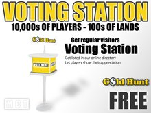 Linden Gold Hunt Voting Station - Get listed in our directory - Increase your traffic