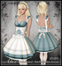 [Wishbox] Alice in Wonderland (Petites) - Costume Dress for Petite Mesh Avatars