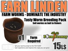 Tasty Worms Breeding Pack - Earn Linden by farming for worms