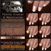 ~JJ~ The Glamorous Petite - Manicure - Glitters