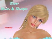 Elsa Skin and Shape  ***Transfer***