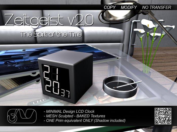 Zeitgeist v2.0 (Grey Edition)