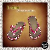 SF* Petites Leilani Flip Flops, Hawaiian Pink