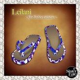 SF* Petites Leilani Flip Flops, Hawaiian Purple