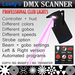 Leety's DMX scanner / club lights