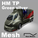 HM TP M GreenSilver 100%Mesh Big Transporter