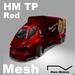 HM TP M Red 100%Mesh Big Transporter