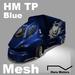 HM TP M Blue 100%Mesh Big Transporter