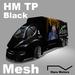 HM TP M Black 100%Mesh Big Transporter