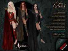 PETITES Female Elves, tiny mesh avatars + Fallen Gods Inc.
