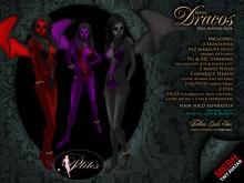 PETITES Female Dracos, tiny mesh avatars + Fallen Gods Inc.