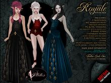 PETITES Female Royale, tiny mesh avatars + Fallen Gods Inc.