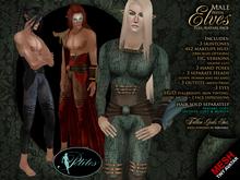 PETITES Male Elves, tiny mesh avatars + Fallen Gods Inc.