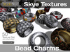 +Skye Textures - Jewelry Sets - 50 Bead Charms Textures-  Full Perms