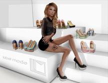 [label mode] Siah heels - FATPACK