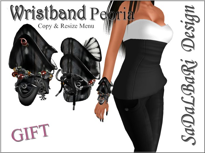 Wristband Peoria /Gift /Female