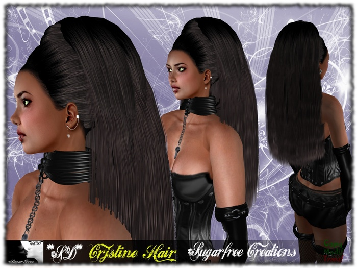 **SD** Cristjne Hair (Black Night)
