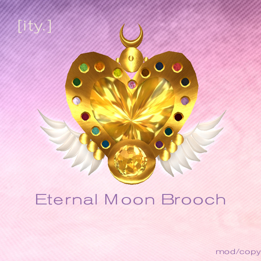 [ity.] Eternal Moon Brooch