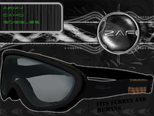 Z.A.F ARMY_CAMO Goggles (Humans & Furrys)