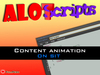 Editable ! Auto Sit Content animation.