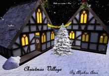 Christmas Village by Alzahra Ames (Winter Cottage)