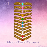 [ity.] Sailor Moon Tiara Fatpack (Transferable!)