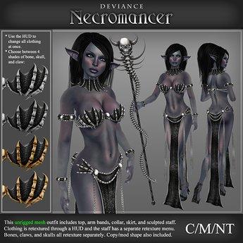 * Deviance * Necromancer Dark Shadow
