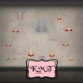 .:::K,M,T:::.Skin Creators Male Nose & Crease Set Of 84