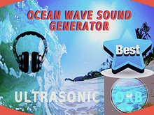 Easy Ocean Sound Maker waves crashing,Sea surf. Lovely beach. New HQ 2012 sound system! Waterfront *Ultrasonic Orb*.