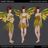 Fairy Special - Women's Petite Mesh Avatar Outfit