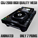 cdj 2000 High Quality Mesh