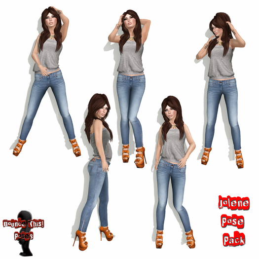 Bounce This Poses - Jolene Pose Pack