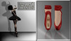 ::*Etoile*::Ballet Shoes -Red-
