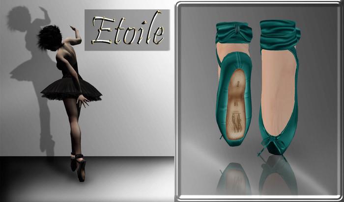 ::*Etoile*::Ballet Shoes -Sea-