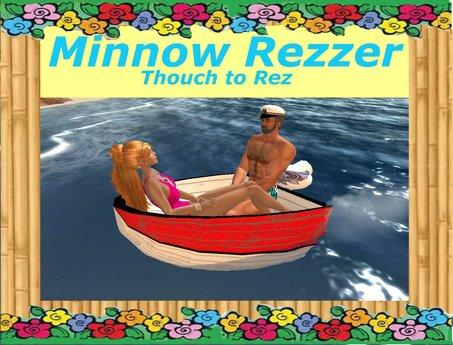 Minnow  Tiny  Boat  Dingy  Rezzer