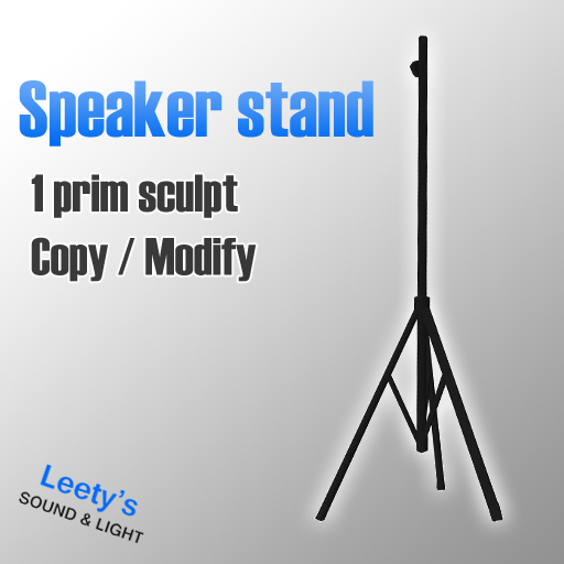 Speaker Stand only 1 Prim