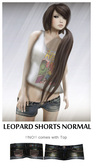 LEOPARD SHORTS NORMAL *YAKO* OLD BRAND