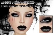 .:Glamorize:. Black Pain Makeup - 7 Tattoo Layers